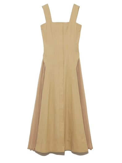 Side Pleats Dress