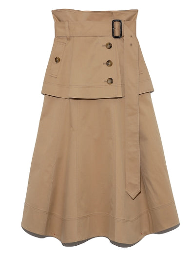Trench Mid Skirt