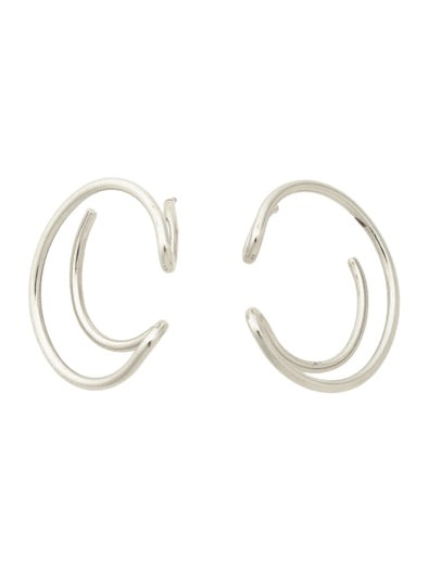 Half Hoop Earrings