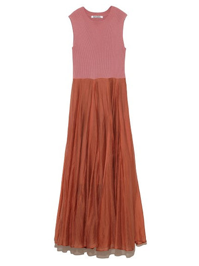 Sheer Knit Maxi Dress