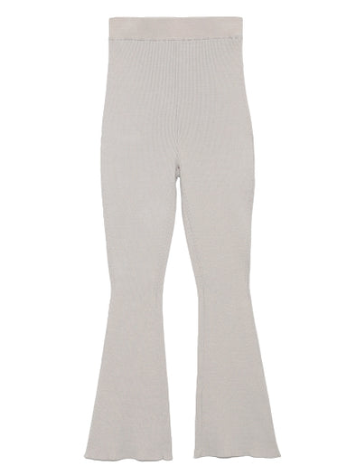 Ribbed knit pants