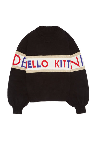 Hello Kitty Logo Knit
