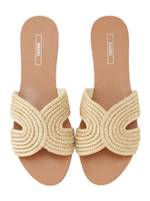 Load image into Gallery viewer, Jute Flat Sandals