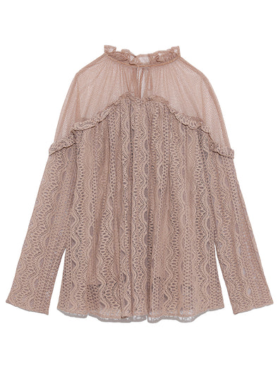 Lace Docking Blouse