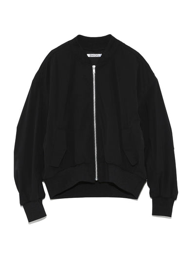 Bomber Jacket with Back Logo