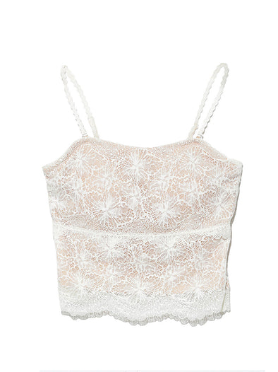 Lace Bare Top