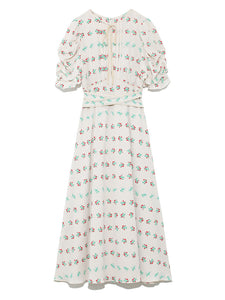 Mini Flower Patterned Dress (SWFO191031)