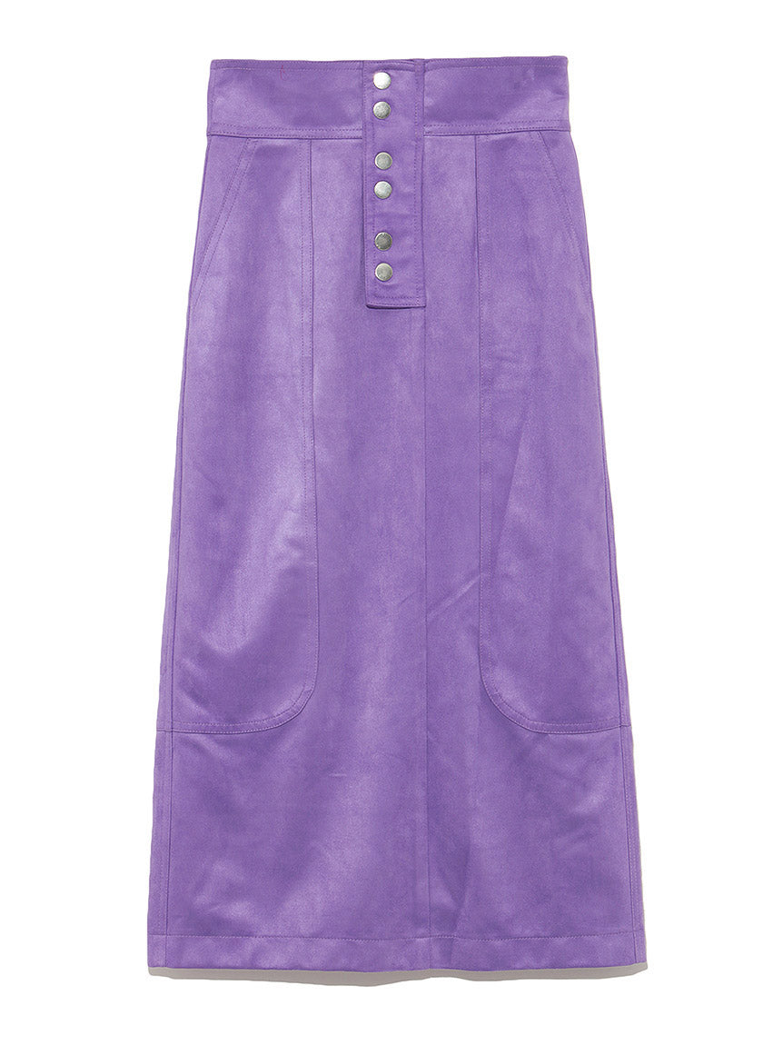 Suede Mini Skirt (SWFS184155)
