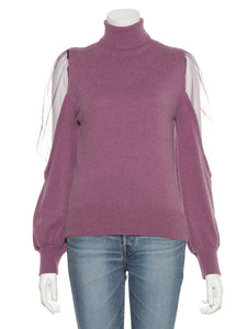 Cool Shoulder Knit Top (SWNT185148)
