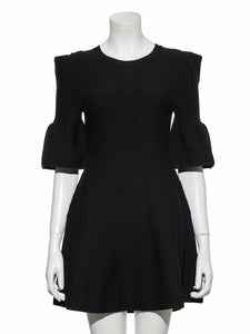 Half Sleeve Knit Dress (SWNO191060)