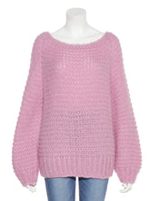 Load image into Gallery viewer, Mohair Low Gauge Hand Knit Top (SWNT185069)