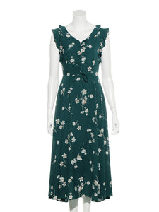 Vintage Flower Patterns Dress (SWFO192007)