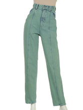 Load image into Gallery viewer, High Waisted Denim Pants (SWFP191148)
