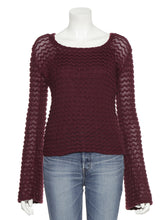 Load image into Gallery viewer, Crochet Knit Top