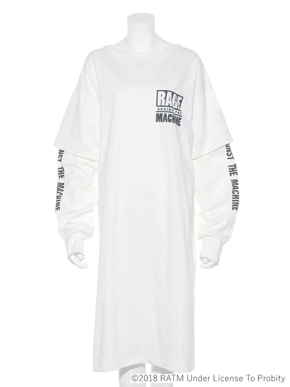 Rage Against The Machine Collaboration - Sweatshirt Dress