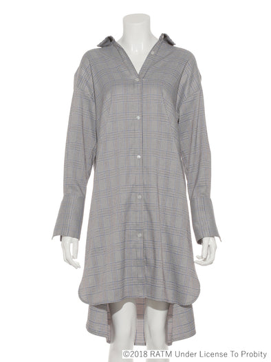 Rage Against the Machine Collaboration - Embroidered Shirt Dress