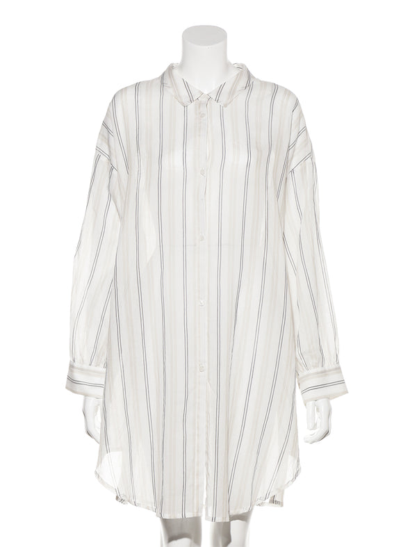 Oversized Shirt Designed Dress