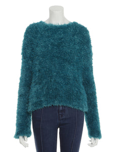 Fur Like Knit Top (SWNT184120)