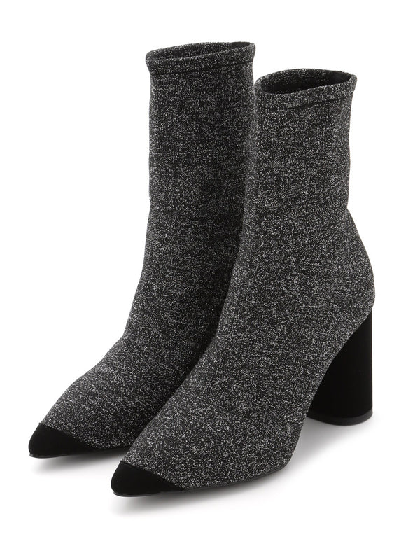 Fitted Knit Boots