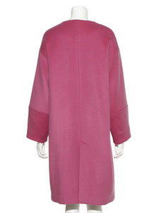 Collarless Long Coat (SWFC185007)