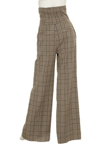 High Waisted Wide Pants (SWFP185115)