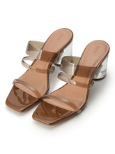 Load image into Gallery viewer, Summer Clear Heel Sandals (SWGS192645)