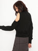 Cut-Out Detail Knit Pullover Top