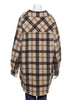 Wool Check Shirt Jacket