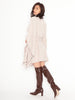 Stand Collar Poncho Coat