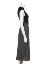 Load image into Gallery viewer, Linen Skirt Combined Dress (SWNO192040)