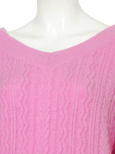 Color Knit Pullover