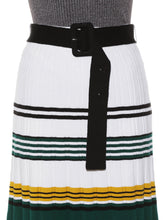 Load image into Gallery viewer, Color Block Knit Skirt ( SWNS192097 )
