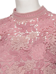 Frilled Lace Blouse (SWFB191081)