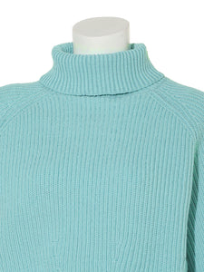 Cropped Turtle Rib Knit Pullover (SWNT191108)