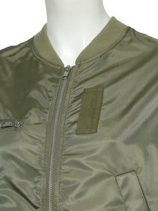 Lace-Up Design Blouson (SWFJ191012)