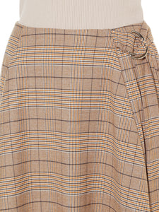 Pleated Wool Skirt (SWFS184021)