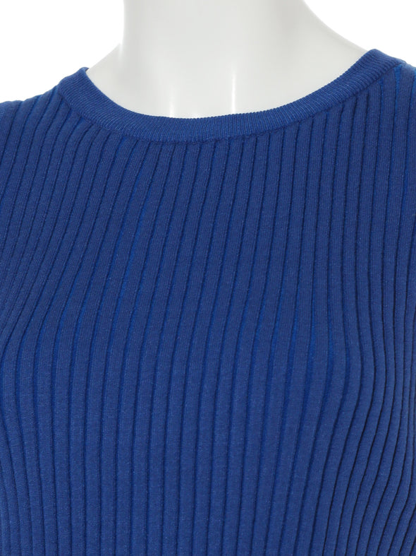 American Sleeve High Neck Knit