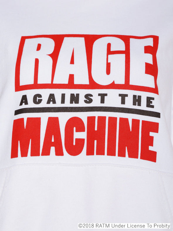 Rage Against The Machine Collaboration - Logo Hoodie