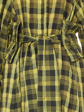 Load image into Gallery viewer, Checkered Long Dress with Belt (SWFO185013)