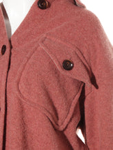 Load image into Gallery viewer, Button Down Wool Jacket
