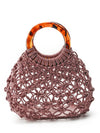 Braided Bamboo Mini Bag