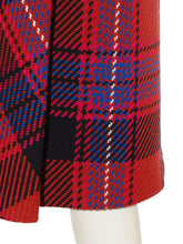 Load image into Gallery viewer, Checkered Roving Midi Skirt (SWFS185106)