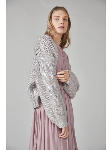 Low Gauge Knit Cardigan (SWNT184031)