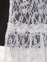 Load image into Gallery viewer, Tiered Lace Covered Skirt
