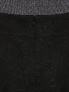 Detailed Lace Covered Tight Skirt ( SWFS192102 )