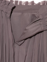 Load image into Gallery viewer, Accordion Pleated Sheer Skirt