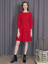 Load image into Gallery viewer, Fit & Flare Knit Dress (SWNO185048)