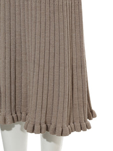 Rib Knit Long Dress (SWNO184036)