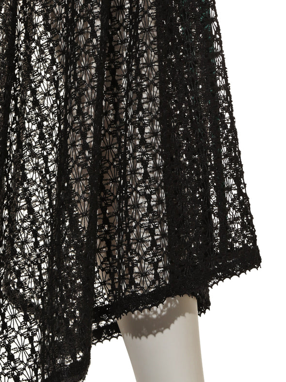 Side Line Lace Skirt