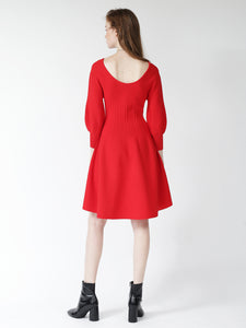 Fit & Flare Knit Dress (SWNO185048)
